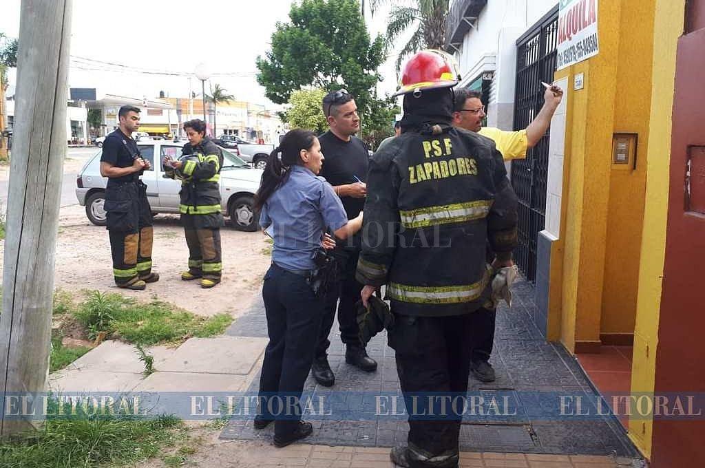 Una violenta pelea de pareja terminó con una mujer internada y un departamento quemado -  -