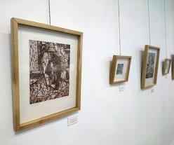 """""""Corteza y piel"""" - Una de las obras de Malena Mainieri expuestas en la Asociación de Artistas Plásticos. -"""