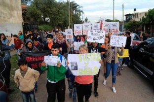 Familiares y vecinos de Sheila pidieron justicia -  -