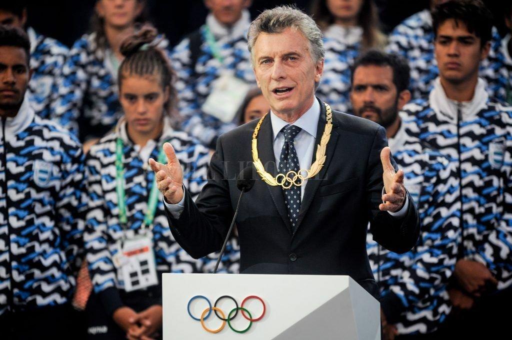 """Macri: """"La Villa Olímpica ahora se va a convertir en el hogar de más de mil familias"""""""