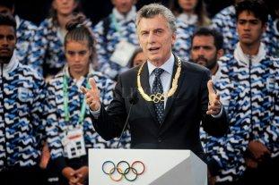 """Macri: """"La Villa Olímpica ahora se va a convertir en el hogar de más de mil familias"""" -  -"""