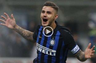 Icardi le dio el agónico triunfo al Inter sobre el Milan -  -