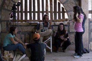 """Arranca la IV Reunión de Arte Contemporáneo  - El director Mariano Llinás, aquí durante el rodaje de la película """"La Flor"""", será uno de los participantes de la reunión de Arte Contemporáneo. -"""