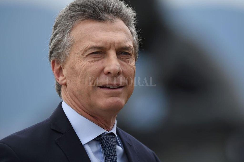 Mauricio Macri. Crédito: Archivo