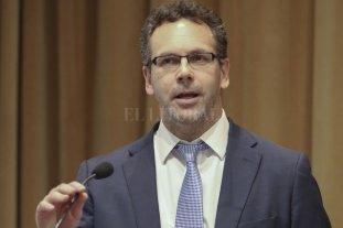 Sandleris presenta el informe de Política Monetaria del cuarto trimestre - El presidente del Banco Central, Guido Sandleris. -