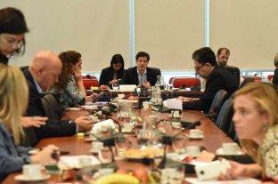 Gestiones de última hora para la aprobación del Presupuesto - El diputado oficialista Laspina encabezó la reunión de comisión de Presupuesto -