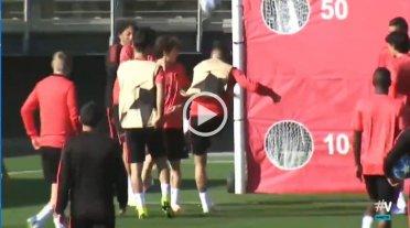 Sergio Ramos agredió a un juvenil en el entrenamiento del Real Madrid
