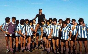 Maradona saludó a Menotti en su cumpleaños 80 -  -