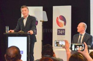 """El presidente resaltó que en el país nunca hubo """"tanta libertad de prensa""""  - El presidente Mauricio Macri dijo que """"en la Argentina de hoy cada persona puede decir libremente lo que quiere y piensa"""" y consideró que libertad de expresión significa """"no usar más el dinero público en propaganda política. -"""