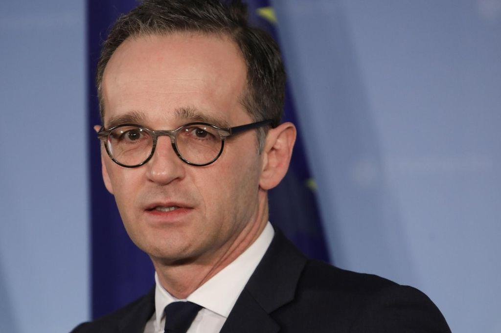 Heiko Maas, ministro federal alemán de Asuntos Exteriores. <strong>Foto:</strong> Internet