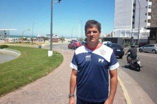 """No se olviden de Lisanti - Una foto de archivo, de sus primeros pasos como profe de Unión. Allí inició un camino de éxito en el club, al igual que su """"jefe"""". Mariano Lisanti ha demostrado su capacidad en la preparación de este plantel."""
