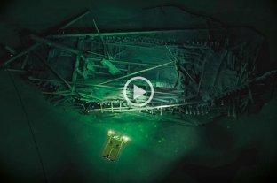 Hallan en el mar Negro un barco griego que naufragó hace más de 2.400 años