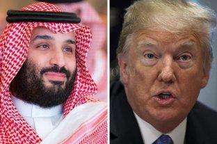 """Trump: el príncipe saudí """"es el que maneja las cosas"""""""