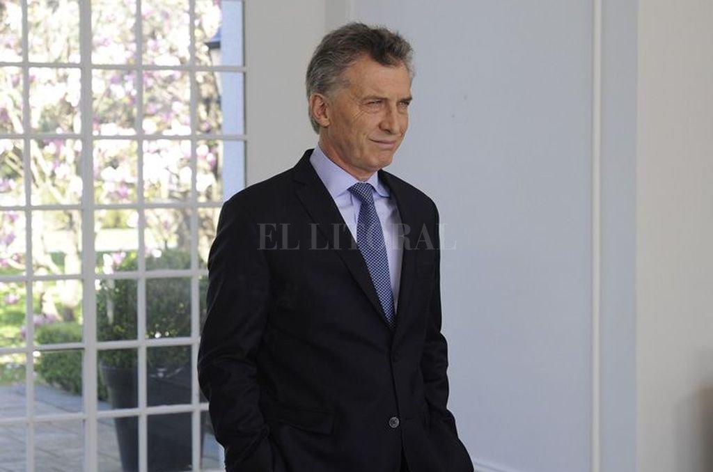 Mauricio Macri. <strong>Foto:</strong> DyN