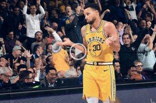 Curry tuvo otra magnífica noche: 51 puntos, con 11 triples