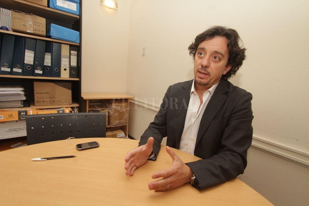 El director cientifico del IEA, Gonzalo Sozzo.  <strong>Foto:</strong> Guillermo Di Salvatore