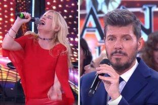 Esmeralda Mitre robó el micrófono del BAR y se puso a cantar en francés