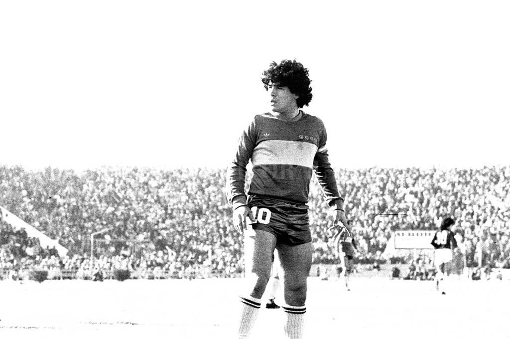 Diego, en la cancha de Colón <strong>Foto:</strong> Archivo El Litoral