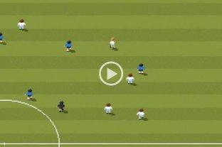 #FelizCumpleDiego: el gol de Maradona a los ingleses en 8 bits