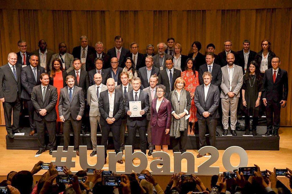 El Urban 20 es uno de los grupos de afinidad del G20.  Crédito: Agencia