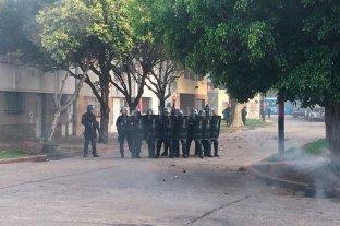 Tensión en Rosario por un desalojo