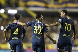 Boca goleó a Tigre y llega entonado a la gran final