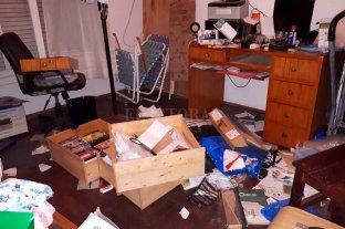 Sangre, desorden y la sospecha de un robo cuantioso de dólares