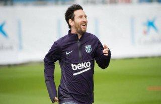 Tras la lesión, Messi viajó a Italia para enfrentar al Inter