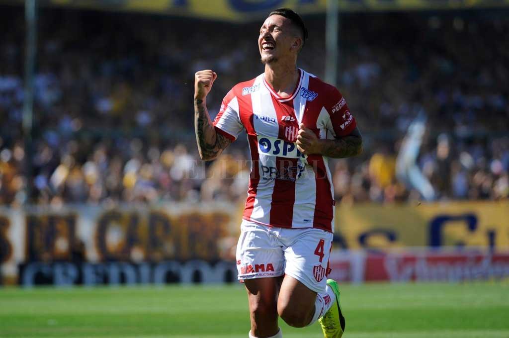 """Damián Martínez, el """"4"""" titular que está listo para volver en el Unión de Madelón. Crédito: El Litoral"""