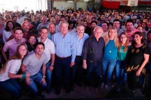Lifschitz y Alfonsín en un almuerzo con 900 personas