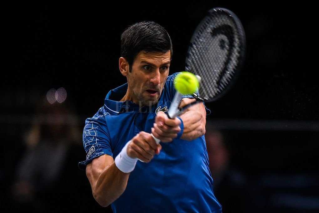 El serbio Novak Djokovic llega como flamante N°1 del mundo. <strong>Foto:</strong> Xinhua