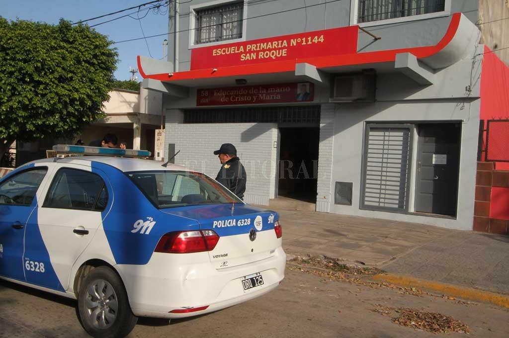 Con cada amenaza de bomba, la policía activa un operativo especial.  <strong>Foto:</strong> Archivo El Litoral