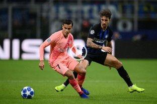 Barcelona empató con Inter y clasificó a octavos de la Champions League