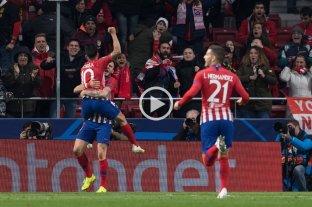 """El Atlético se """"vengó"""" del Borussia Dortmund y se acerca a octavos"""