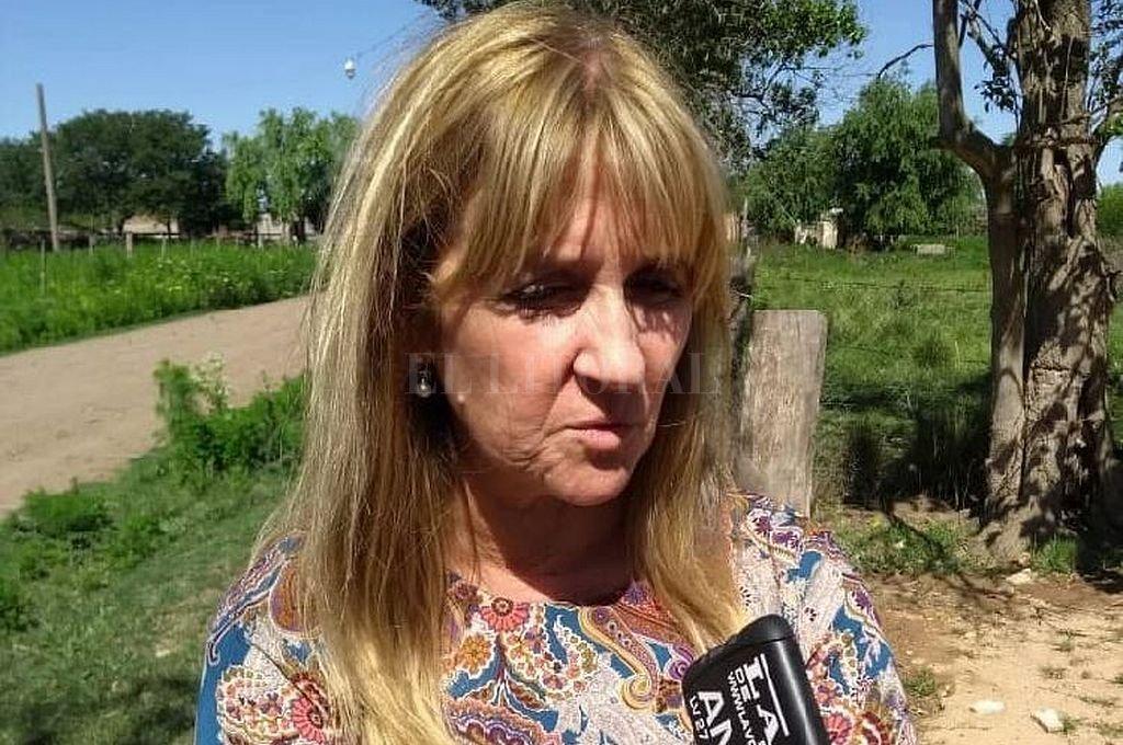 Ángela Capitanio, de la Unidad Fiscal de Rafaela. Crédito: La Voz de San Justo