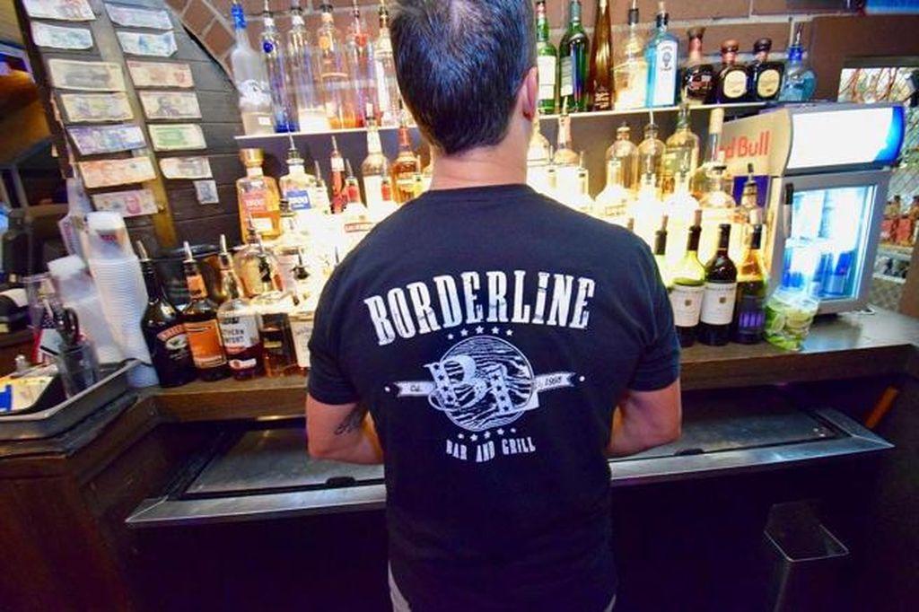 Borderline, el nombre del bar en donde el hombre ingresó. <strong>Foto:</strong> Instagram