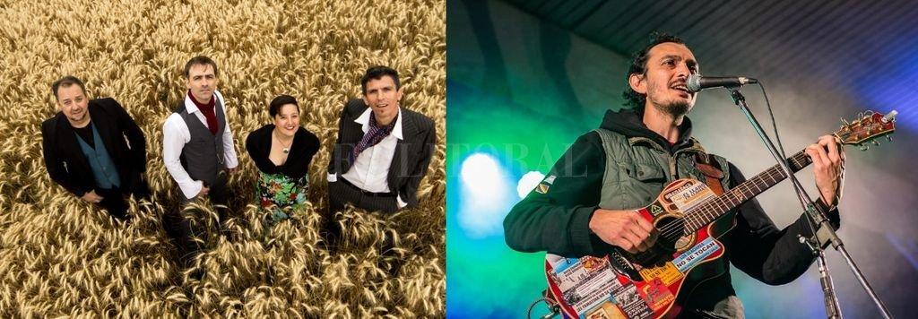 Alexander es un cuarteto acústico que versiona e interpreta temas clásicos de diferentes décadas y canciones de autoría propia. Ramiro González (La Rioja) es considerado uno de los jóvenes cantautores de su provincia que se consolida como referente nacional. <strong>Foto:</strong> Gentileza producción