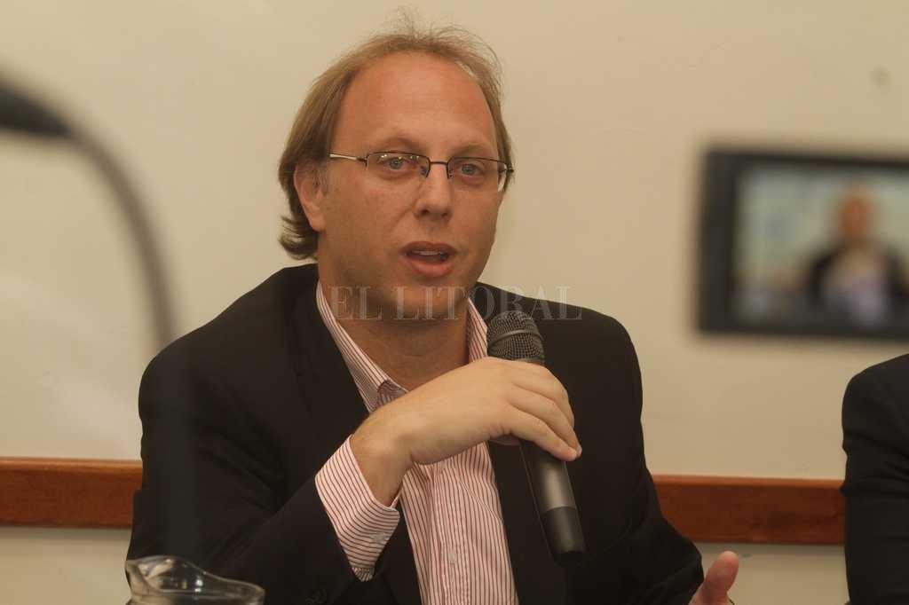 Ministro de Economía, Gonzalo Saglione.  <strong>Foto:</strong> Guillermo Di Salvatore