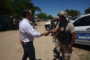Corral pidió más fuerzas de seguridad en Santa Fe a cuenta de la deuda de Nación