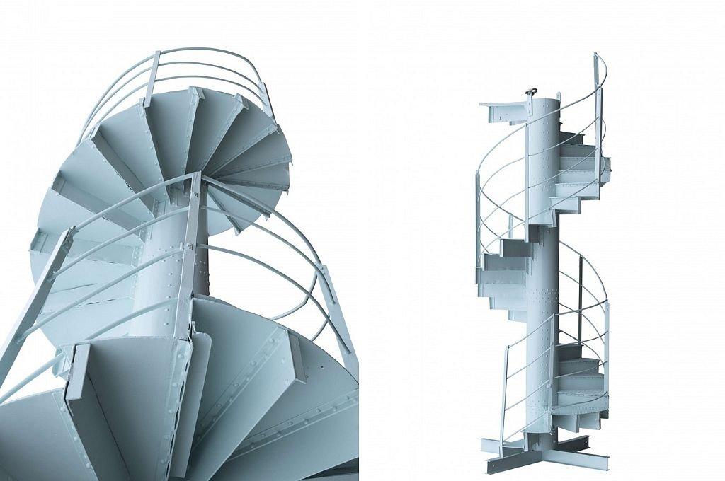 Tramo de las escaleras que será subastado. <strong>Foto:</strong> Artcurial.com
