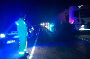 Siniestro fatal en la autopista Santa Fe - Rosario