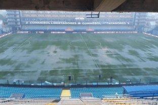 Se suspendió la primera súper final entre Boca y River