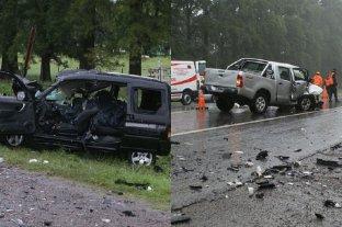 Cuatro hinchas que iban a la súper final murieron en un accidente de tránsito