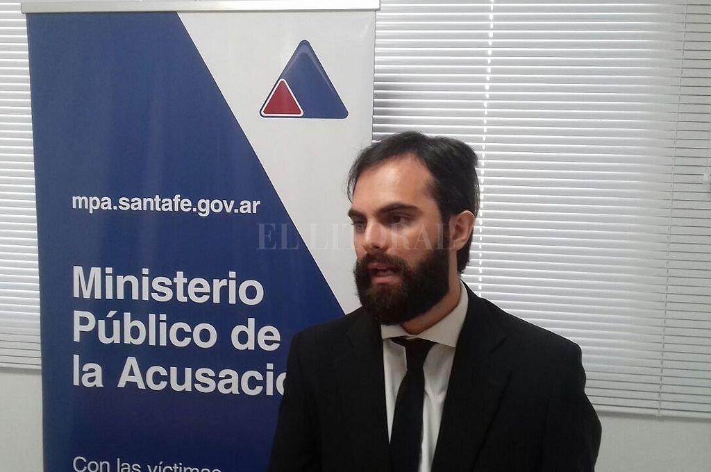 El fiscal Ezequiel Hernández que lleva adelante la investigación Crédito: Archivo El Litoral