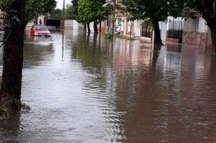 El temporal también afectó a San Justo: rutas anegadas y evacuados -  -