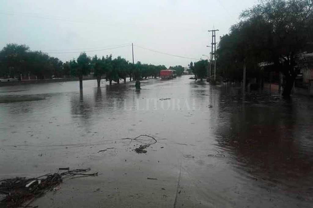 Coronda con severos problemas por las lluvias caídas <strong>Foto:</strong> El Litoral