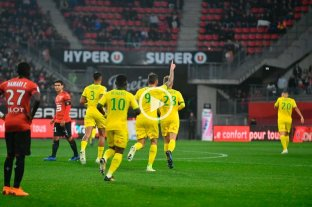 El santafesino Sala no para de meter goles en Francia