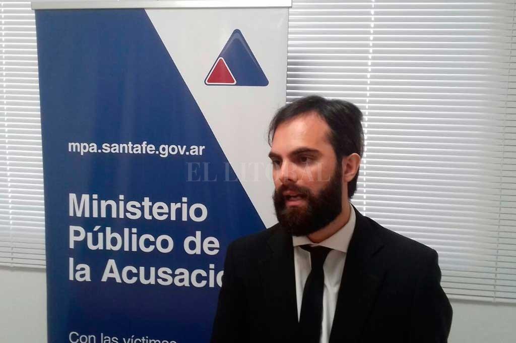 El fiscal Ezequiel Hernández que lleva adelante la investigación <strong>Foto:</strong> Archivo El Litoral