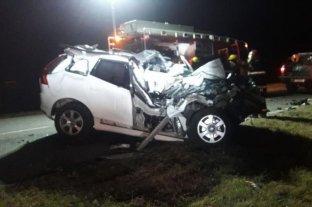 Sobreseyeron al conductor del camión contra el que chocó el ex gobernador De la Sota - Vehículo en el que se accidentó De la Sota en septiembre pasado. -