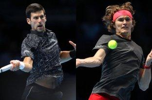 Masters de Londres: Djokovic y Zverev debutaron con un triunfo